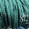 เชือกถัก P.P. #5 สีเขียวเข้ม (10เมตร)