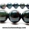 สร้อยหิน หินเลือด (Blood stone)8mm.