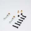 ALUMINIUM FRONT CAMBER - 1PR SET (FOR GF01 / TL01)