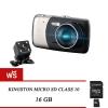 กล้องติดรถยนต์ SuperCam C23 Dual ฟรี Kingston 16GB