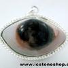 จี้ตาพระศิวะ Agate Eye - Shiva's Eye (14g)