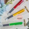 ของชำร่วยราคาถูก ปากกาด้ามเดี่ยวแบบตัวอ้วนคละสี ราคา 6 บาท แถมฟรี สติ๊กเกอร์