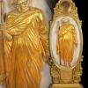 พระบูชาหลวงปู่แหวน มูลนิธิช่วยคน ปัญญาอ่อน จ.เชียงใหม่ จัดสร้าง ปี 2526 เนื้อหินอ่อน