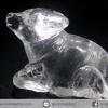 หินควอตซ์แกะเป็นรูปวัว ปีนักษัตร ปีฉลู (25g)