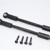 SPRING STEEL STEERING TIE ROD WITH PLASTIC BALL ENDS