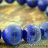 ▽สร้อยหิน ลาพิส ลาซูลี่ (Lapis Lazuli) 11mm.