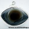 จี้ตาพระศิวะ Agate Eye - Shiva's Eye (9g)