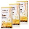 แพ็คx3 - Farbera Clear & Soft Wax Strips (For legs & body) 12 แผ่น