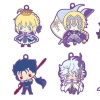 Rubber Mascot - Fate/Grand Order Design produced by Sanrio 8Pack BOX(Pre-order)