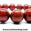สร้อยหิน เรดแจสเปอร์ Red Jasper 10.5mm.
