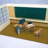 (Pre-order โปรโมชั่นส่งลงทะเบียนฟรี)Nendoroid Playset #01: School Life Set A+B