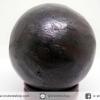 หินมงคล เนื้อแร่เหล็กไหลเขาอึมครึมทรงกลม (239g)
