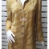 jp5086-เสื้อเชิ้ตของใหม่ สีเหลืองตองแก่ marsa อก 39 นิ้ว