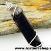 จี้สโมกี้ควอตซ์สีเข้ม black smokey quartz (5.3g)