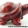 ▽เรดแจสเปอร์ Red Jasper แกะเป็นรูปเต่ามงคล (30g)