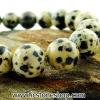สร้อยข้อมือ ดัลเมเชี่ยน แจสเปอร์ dalmatian jasper 10mm.