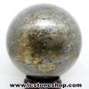 ไพไรต์ (Pyrite) ทรงบอล หินทรงกลม (8.3 cm, 1.53Kg.)
