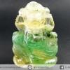 องค์พระพิฆเนศ แกะจากหินฟลูออไรท์ (Fluorite) จากประเทศอินเดีย(18g)