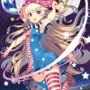 """Touhou Nami no Amamiya - Wall Scroll """"Crownpiece"""" -illust Absole-(Pre-order)"""