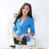[[พร้อมส่ง]]BG เสื้อแจ็คเก็ตทรงเสื้อสูทติดกระดุมหน้าแขนยาวไสตล์เกาหลีค่ะ SL9407