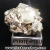 ผลึกกลุ่มไพไรต์ Pyrite เปรูแหล่งสวยสุดในโลก (72g)