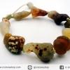 สร้อยข้อมือ อาเกตทะเลทรายโกบี เกรด A (Gobi Agate) 39g