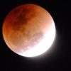 ภาพจากพระจันทร์สีเลือด กล้องดูดาว Celestron 130EQ