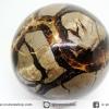 ▽เซ็ปแทเรี่ยน Septarian (Dragon stone) หินทรงกลม (7.5 cm.,606g)