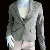 BNJ0371--เสื้อสูท สีเทา แบรนด์เนม ENC อก 33 นิ้ว