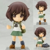 Cu-poche - Girls und Panzer the Movie: Yukari Akiyama Uniform ver. Posable Figure(Pre-order)