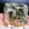เพชรหน้าทั่ง หรือไพไรต์ pyrite ทรงลูกบาศก์ (324g)