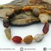 สร้อยข้อมือ อาเกตทะเลทรายโกบี เกรด A (Gobi Agate) 30g