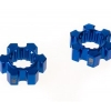 ALUMINIUM WHEEL HEX (10MM THICKNESS) - 4PCS