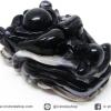 หินตาอาเกต-หัวมังกร มีเจาะรูทะลุ(Eye Agate) (36g)