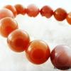 ▽สร้อยข้อมือ มูนสโตนสีส้ม (Moonstone) 14 mm.