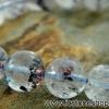 ▽สร้อยหิน เลพิโดโครไซต์ และ เกอไทท์ใน ควอทซ์ (Lepidocrosite /Goethite in Quartz) 10.5mm.