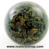 ▽คัมบาบา แจสเปอร์ Kambaba jasper ทรงบอล 4 cm