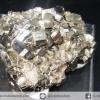 ผลึกกลุ่มไพไรต์ Pyrite เปรูแหล่งสวยสุดในโลก (58g)