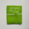 ผ้ากันเปื้อน สีเขียวอ่อน