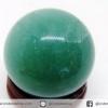 ▽กรีนอะเวนจูรีน (Green Aventurine) ทรงบอล หินทรงกลม 3 cm