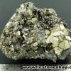▽ผลึกกลุ่มไพไรต์ เพชรหน้าทั่ง Pyrite (106g)สวยสุดๆจากเปรู