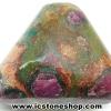 ทับทิม-ฟัชไซต์ Ruby-Fuchsite ขัดมัน ขนาดพกพา (15g)
