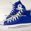 รองเท้า converse หุ้มข้อ สีน้ำเงิน