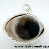 จี้ตาพระศิวะ Agate Eye - Shiva's Eye (7g)