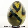 ▽หินมังกร - เซ็ปแทเรี่ยน Septarian (Dragon stone) ทรงไข่ (382g)