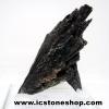 ▽ไคยาไนท์สีดำ Black Kyanite (22g) พร้อมฐานกระจก