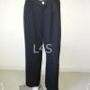 BNB1017-กางเกงผ้า สีดำ แบรนด์ Guy Laroche เอว 27 นิ้ว