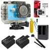 SJCAM SJ5000X Elite WiFi 4K (2x Battery +1x Dual-Charger+1x Monopod+1x Bobber+ 1x Kingston32)