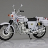 1/12 Complete Motorcycle Model Honda CB750FOUR (K0) White Motorcycle(Released)