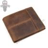 GT-8145 กระเป๋าสตางค์ผู้ชาย หนังนูบัค สีน้ำตาล
